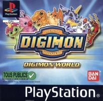 Photo de la boite de Digimon World