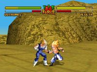 Dragon Ball Z - Ultimate Battle 22 sur Sony Playstation