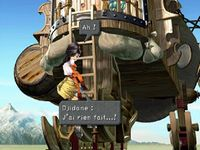 une photo d'écran de Final Fantasy 9 sur Sony Playstation