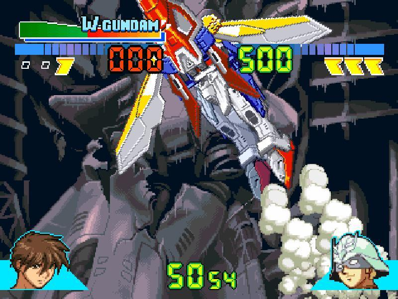une photo d'écran de Gundam Battle Assault sur Sony Playstation