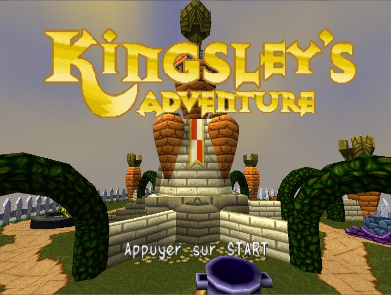 une photo d'écran de Kingsley s Adventure sur Sony Playstation