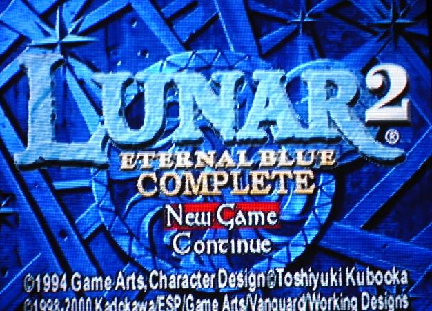 une photo d'écran de Lunar 2 - Eternal Blue Complete sur Sony Playstation