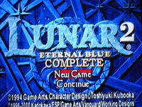 Lunar 2 - Eternal Blue Complete, capture décran