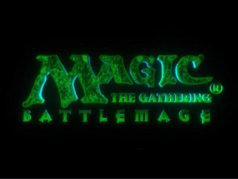 une photo d'écran de Magic the Gathering - Battlemage sur Sony Playstation