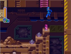 une photo d'écran de Mega Man 8 sur Sony Playstation