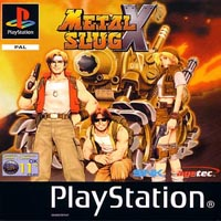 Photo de la boite de Metal Slug X