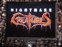 une photo d'écran de Nightmare Creatures sur Sony Playstation