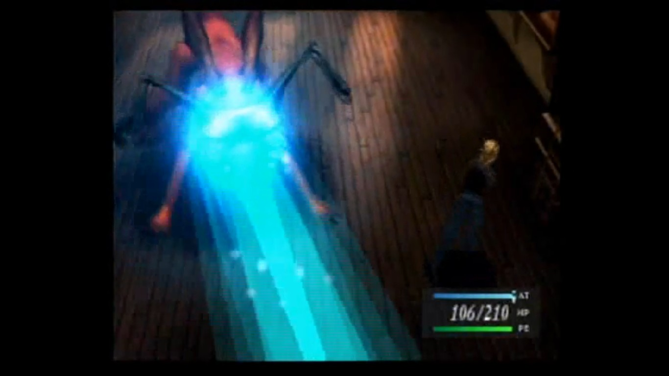 une photo d'écran de Parasite Eve sur Sony Playstation