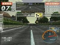Rage Racer sur Sony Playstation