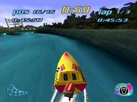 Rapid Racer sur Sony Playstation