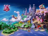 Rayman (Playstation), capture d'écran
