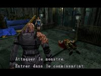 une photo d'écran de Resident Evil 3 - Nemesis sur Sony Playstation