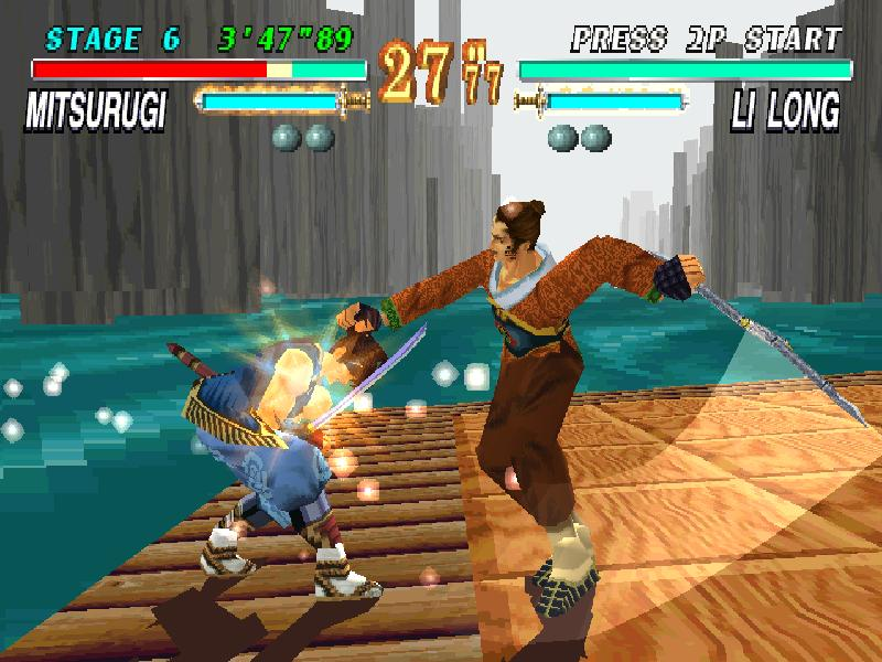 une photo d'écran de Soulblade sur Sony Playstation
