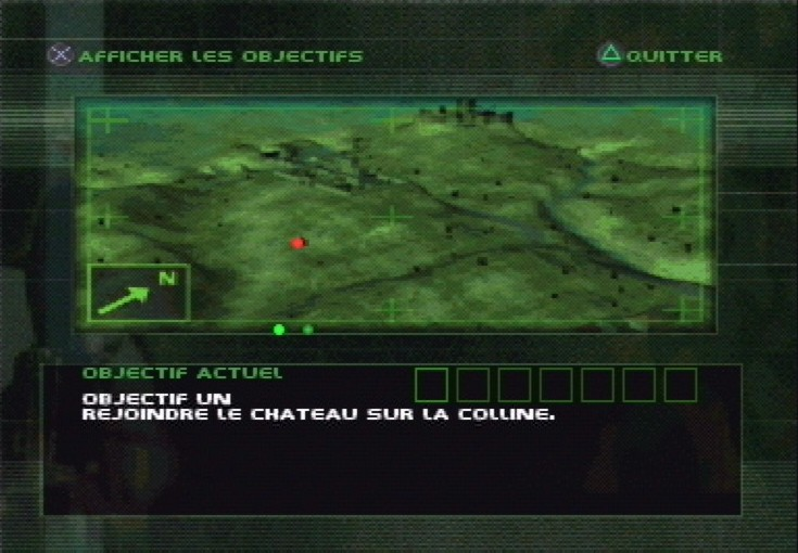 une photo d'écran de Spec Ops - Covert Assault sur Sony Playstation