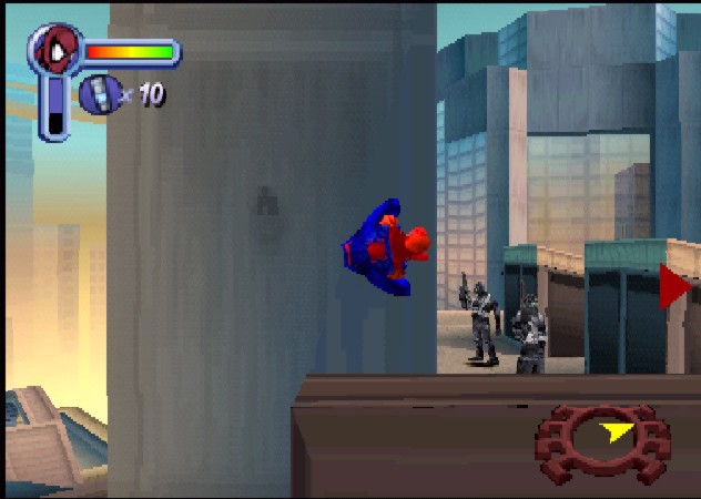 une photo d'écran de Spider-Man (Playstation) sur Sony Playstation
