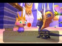 une photo d'écran de Spyro - Year of the Dragon sur Sony Playstation