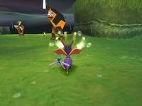 une photo d'écran de Spyro 2 - Gateway to Glimmer sur Sony Playstation