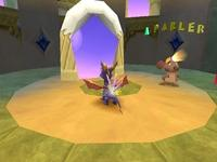 Spyro 2 - Gateway to Glimmer, capture décran