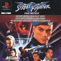 Photo de la boite de Street Fighter - The Movie (Playstation)