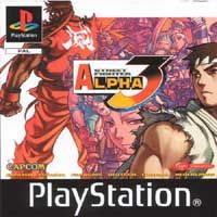 Photo de la boite de Street Fighter Alpha 3