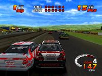 TOCA 2 Touring Cars sur Sony Playstation