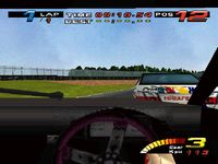 TOCA Touring Car Championship, capture décran