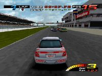 une photo d'écran de TOCA Touring Car Championship sur Sony Playstation