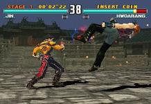 une photo d'écran de Tekken 3 sur Sony Playstation