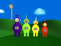 Teletubbies, capture d'écran