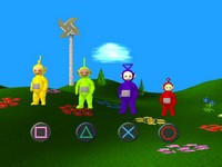 Teletubbies sur Sony Playstation