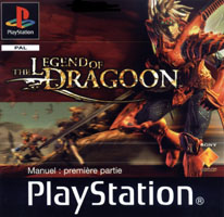 Photo de la boite de The Legend of Dragoon