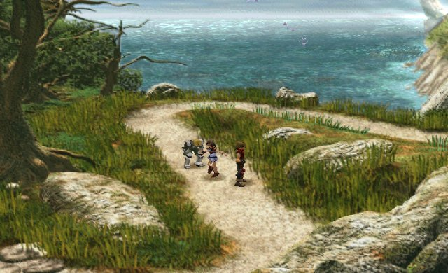 une photo d'écran de The Legend of Dragoon sur Sony Playstation