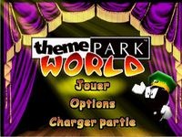Theme Park World sur Sony Playstation