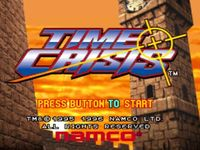 Time Crisis sur Sony Playstation