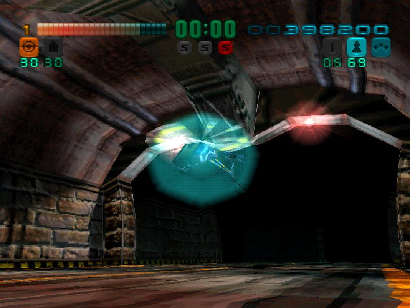 une photo d'écran de Tunnel B1 sur Sony Playstation