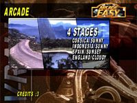 V-Rally 97 Championship Edition, capture décran