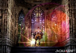 une photo d'écran de Vagrant Story sur Sony Playstation