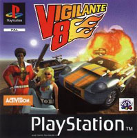 Photo de la boite de Vigilante 8 (Playstation)