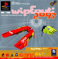 Photo de la boite de WipEout 2097