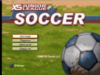 XS Junior League Soccer sur Sony Playstation