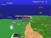 Xevious 3D sur Sony Playstation