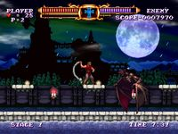 une photo d'écran de Castlevania - The Adventure Rebirth sur Virtual Console WII