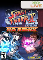 Photo de la boite de Super Street Fighter 2 Turbo HD Remix