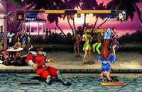 Super Street Fighter 2 Turbo HD Remix, capture d'écran