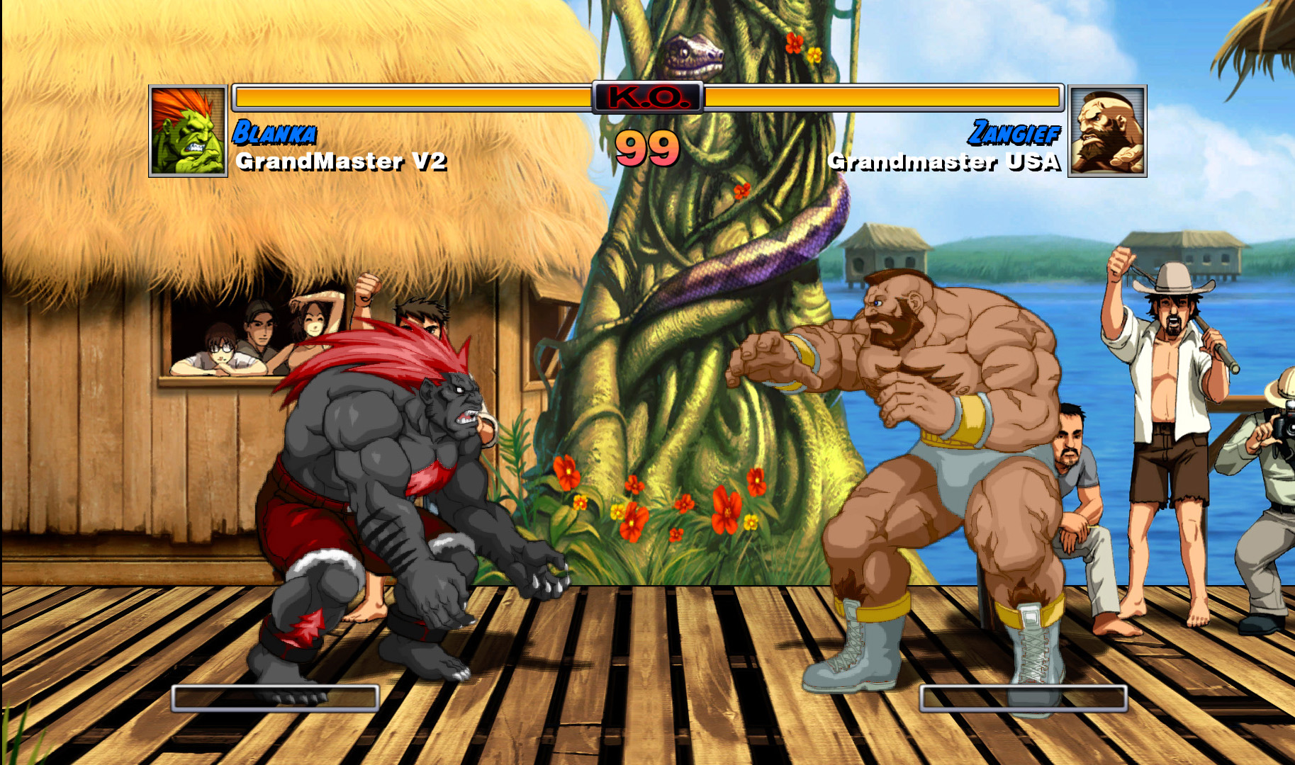 une photo d'écran de Super Street Fighter 2 Turbo HD Remix sur X-Box Live