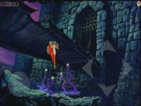 Dragon s Lair, capture décran